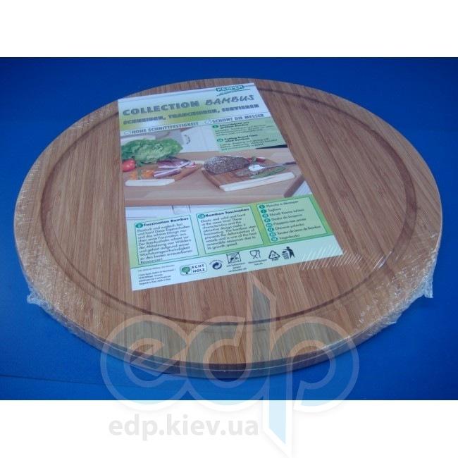 Kesper - Доска для пиццы с желобом круглая (арт. 50444)