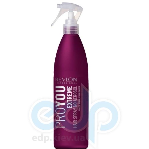 Revlon Professional - Pro You Extreme Hair Spray No Aerosol Лак сильной фиксации без аэрозоля - 400 ml