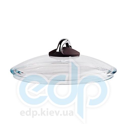 Lumenflon - Крышка стеклянная Ceramic & Chocolate диаметр 24 см (арт. DG24CEC)