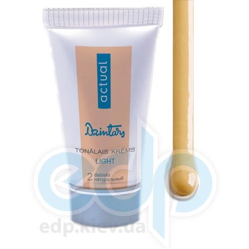 Dzintars (Дзинтарс) - Тональный крем, Dzintars Actual light, тон 2 - натуральный - 30 ml (57234dz)