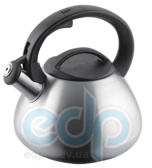 Vinzer (посуда) Vinzer -  Чайник ELLIPSE - нержавеющая сталь, 2,6 л, свисток (арт. 69018)