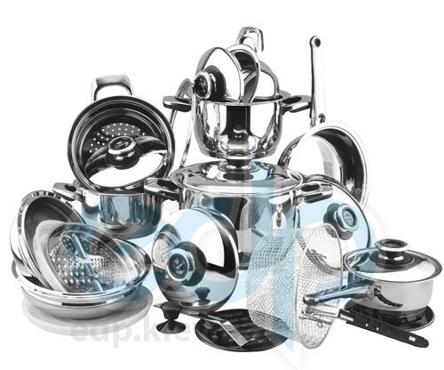 Vinzer (посуда) Vinzer -  Набор посуды GRAND CUISINE - 25 предметов, термодатчик, термоаккумулирующее дно (арт. 89025)