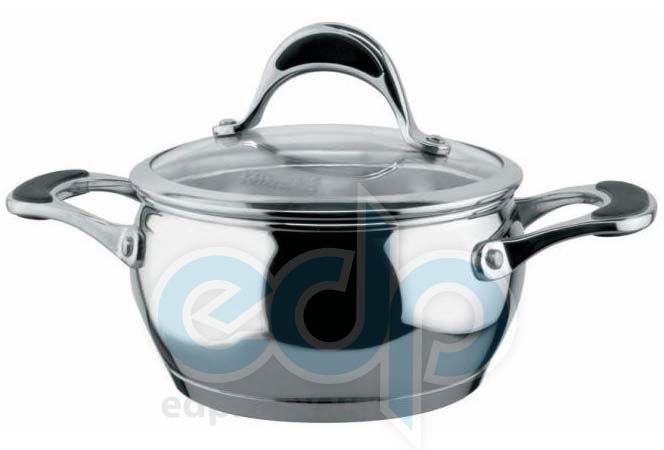 Vinzer (посуда) Vinzer -  Кастрюля - нержавеющая сталь, диаметр 16см, 1,8л (арт. 89066)