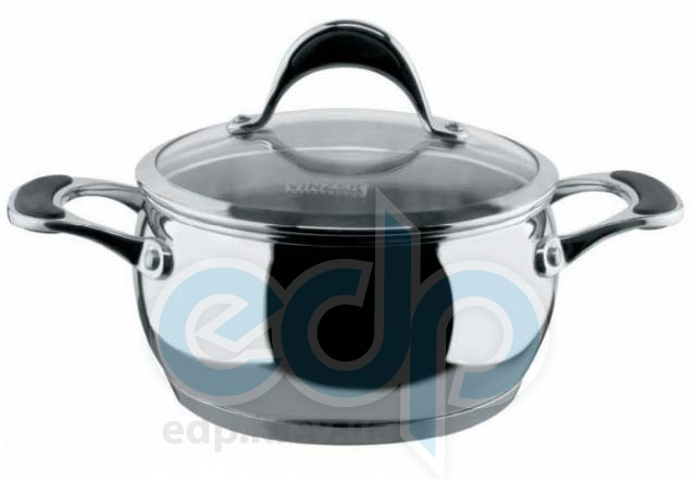 Vinzer (посуда) Vinzer -  Кастрюля - нержавеющая сталь, диаметр 20см, 3,5л (арт. 89068)