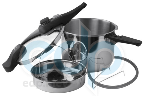 Vinzer (посуда) Vinzer -  Скороварка - нержавеющая сталь, 22 см, 6 л (арт. 69155)