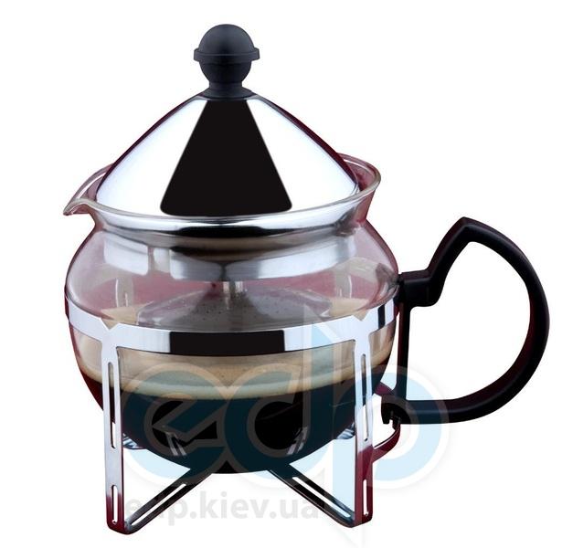 Vinzer (посуда) Vinzer -  Заварник для чая - стекло Thermix, нержавеющая сталь, ситечко, 600 мл (арт. 69397)