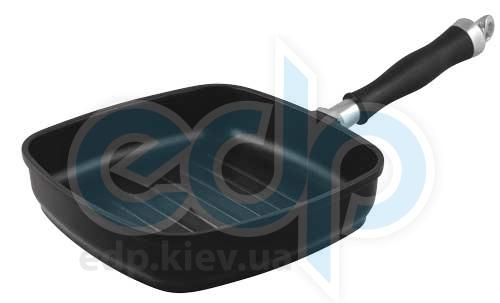 Vinzer (посуда) Vinzer -  Сковорода-гриль CastForm UNIVERSAL - 24х24 см, съемная ручка из нержавеющей стали (арт. 69463)