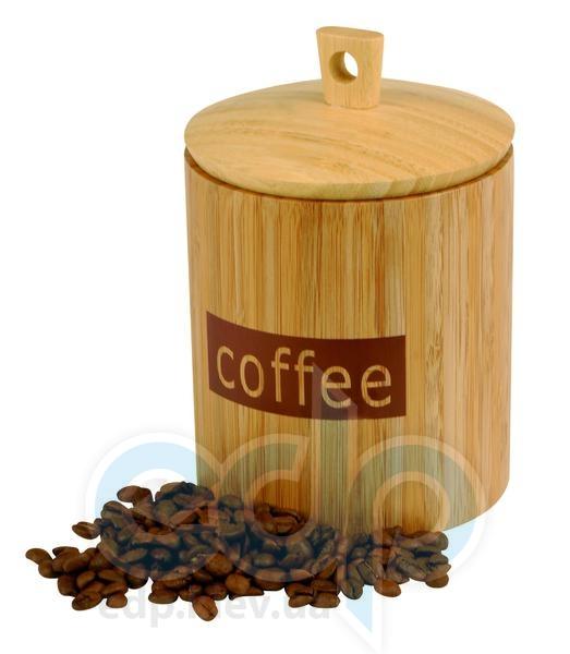 Vinzer (посуда) Vinzer -  Бамбуковая емкость, с надписью COFFEE - 1600 мл (арт. 69918)