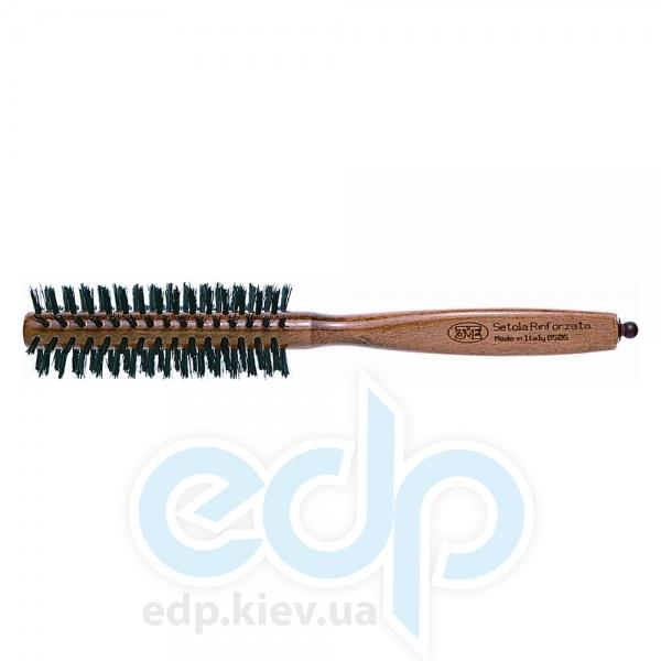 3ME Maestri - 3ME 0505 Расческа с деревянной ручкой из бука с усиленной щетиной Reggio d36mm