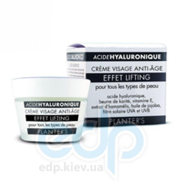 Planters - Hyaluronic Acid Anti-age Face Cream Lifting Effect Крем для лица с лифтинг-эффектом с гиалуроновой кислотой - 50 ml (ref.1553)