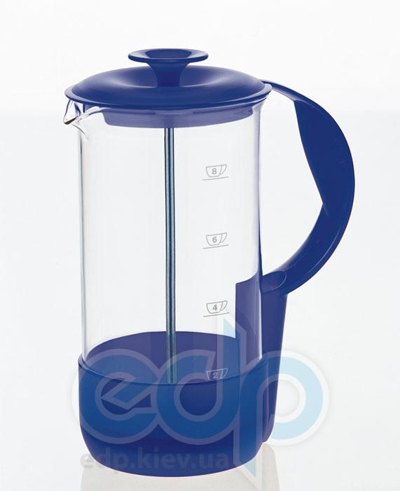 Emsa - Френч-пресс Neo на 8 чашек объем 1 л синий (арт. 5089400)
