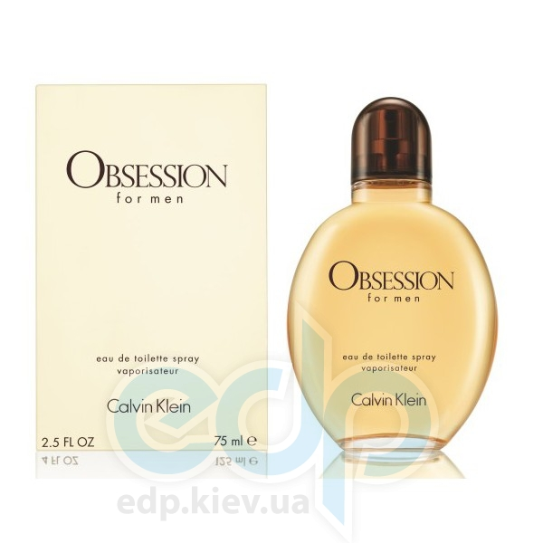Calvin Klein Obsession For Men - туалетная вода - 75 ml