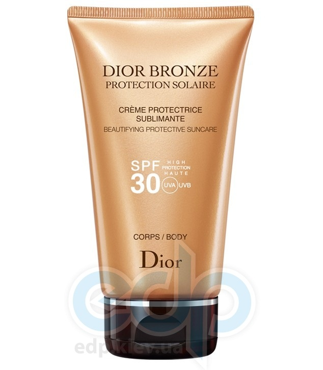Christian Dior - Крем для тела солнцезащитный Dior Bronze Protection Solaire Body SPF 30 - 150 ml TESTER