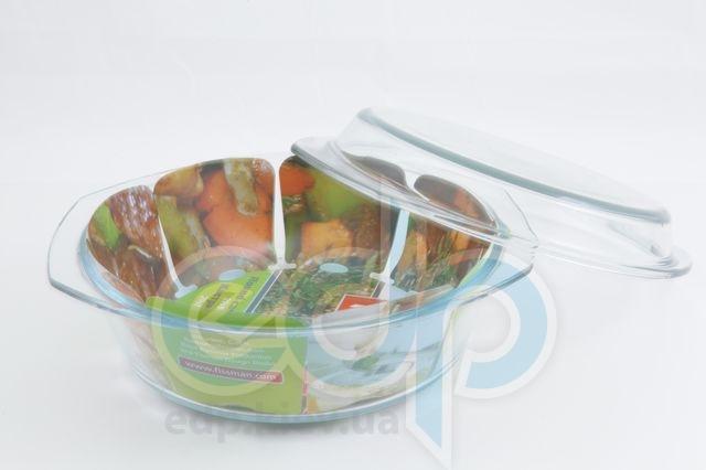 Fissman - Кастрюля для запекания, диаметром 29 см, 2.5 л стекло (арт. GS-6505.29)
