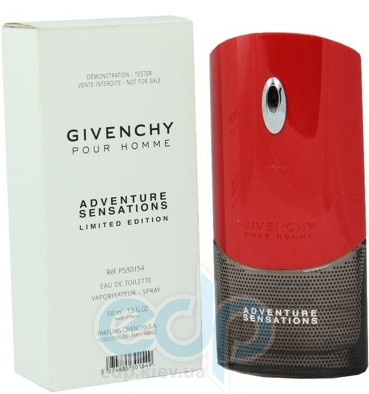 Givenchy pour homme Adventure Sensations - туалетная вода - 50 ml TESTER (Limited Edition)
