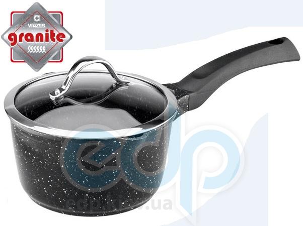 Vinzer - Сотейник с крышкой Premium Granite line объем 1.6 л диаметр 16 см (арт. 89450)