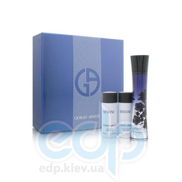 Giorgio Armani Armani Code Eau de Parfum -  Набор (парфюмированная вода 50 + лосьон-молочко для тела 75 + гель для душа 75)