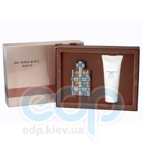 Burberry Brit for women -  Набор (парфюмированная вода 50 + лосьон-молочко для тела 100)
