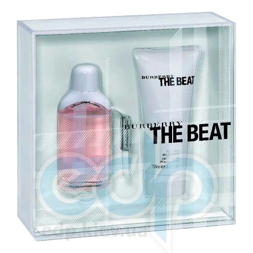 Burberry The Beat -  Набор (парфюмированная вода 75 + лосьон-молочко для тела 100 + гель для душа 100)