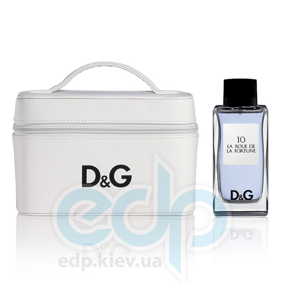 Dolce Gabbana Anthology La Roue de La Fortune 10 -  Набор (туалетная вода 100 + косметичка)