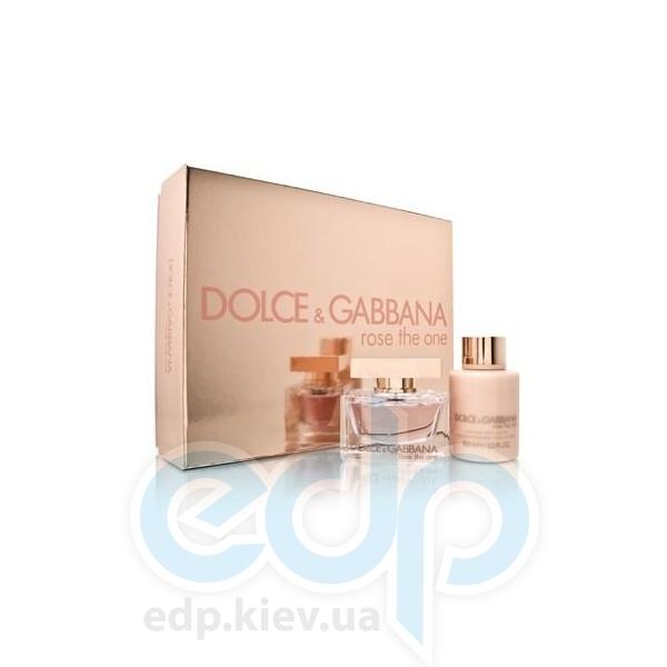 Dolce Gabbana Rose The One -  Набор (парфюмированная вода 30 + лосьон-молочко для тела 100)
