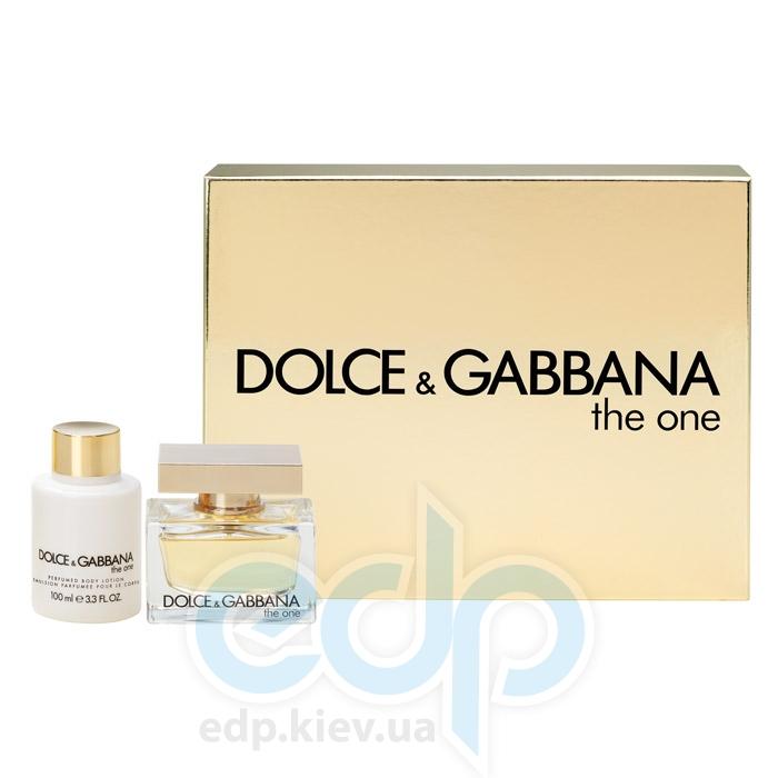 Dolce Gabbana The One -  Набор (парфюмированная вода 50 + лосьон-молочко для тела 100)