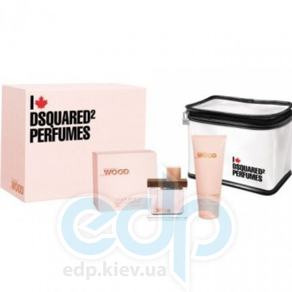 Dsquared 2 She Wood -  Набор (парфюмированная вода 50 + лосьон-молочко для тела 100 + сумка)