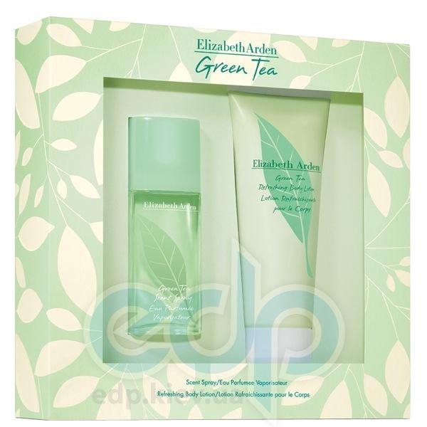 Elizabeth Arden Green Tea -  Набор (парфюмированная вода 100 + лосьон-молочко для тела 100)