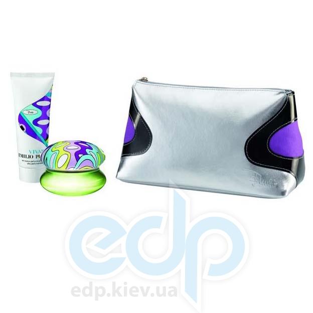 Emilio Pucci Vivara -  Набор (парфюмированная вода 50 + лосьон-молочко для тела 75 + косметичка)