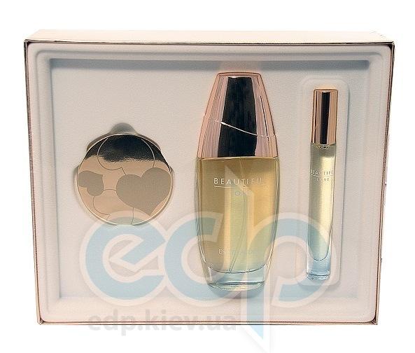 Estee Lauder Beautiful -  Набор (парфюмированная вода 100 + лосьон-молочко для тела 75 + зеркало)