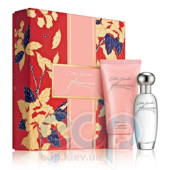 Estee Lauder Pleasure -  Набор (парфюмированная вода 50 + лосьон-молочко для тела 50)