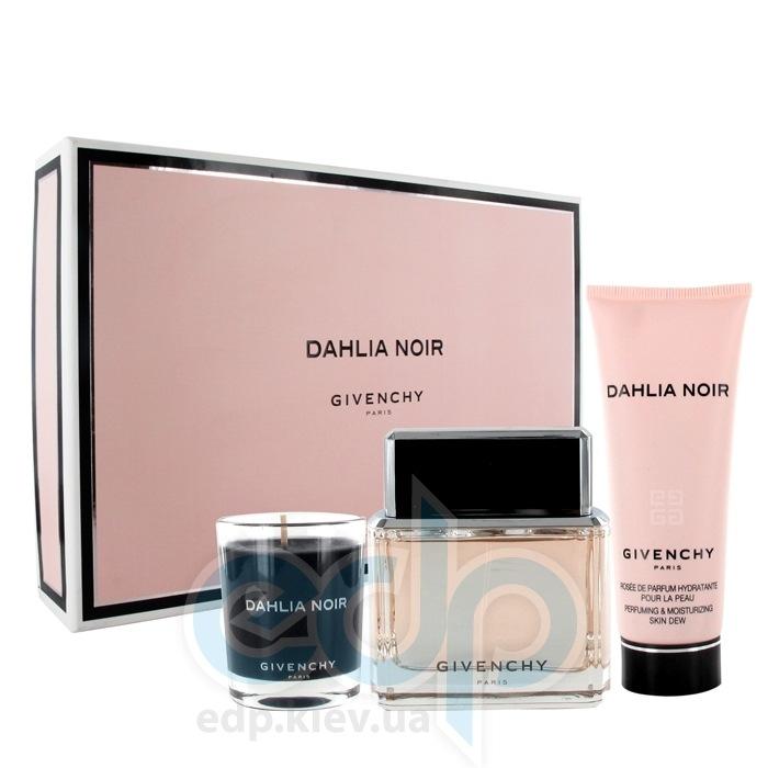 Givenchy Dahlia Noir  -  Набор (парфюмированная вода 50 + лосьон-молочко для тела 75 + ароматизированная свеча)