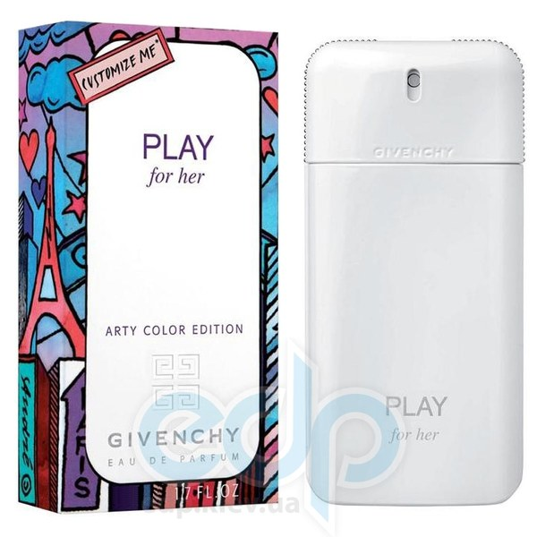Givenchy Play For Her Arty Color Edition - парфюмированная вода -50 ml