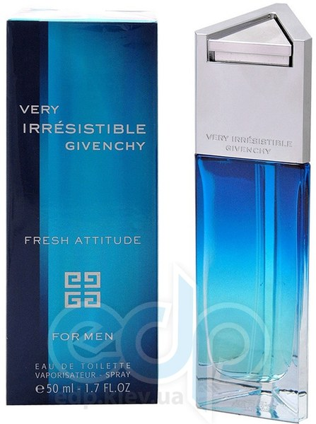 Givenchy Very Irresistible Fresh Attitude For Men - туалетная вода - 100 ml