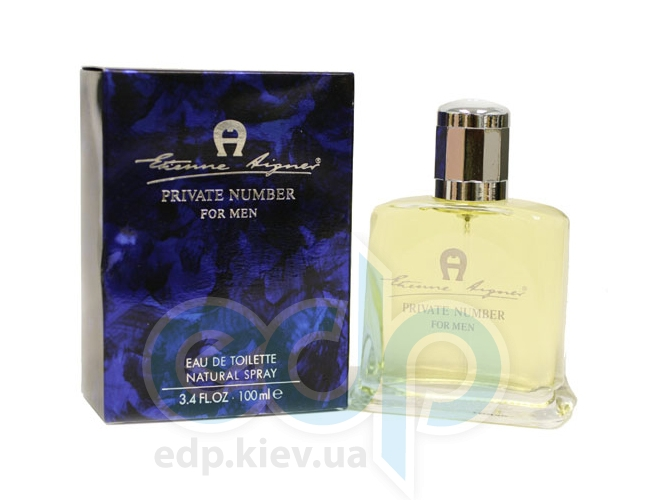 Aigner (Etienne Aigner) Etienne Aigner Private Number For Men - туалетная вода - 100 ml