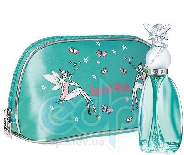 Anna Sui Secret Wish -  Набор (туалетная вода 30 + косметичка)