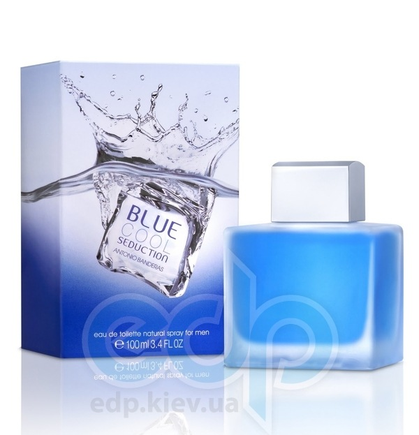 Antonio Banderas Blue Cool Seduction for Men - туалетная вода - 100 ml