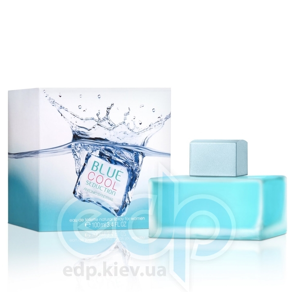 Antonio Banderas Blue Cool Seduction for Women - туалетная вода - 100 ml
