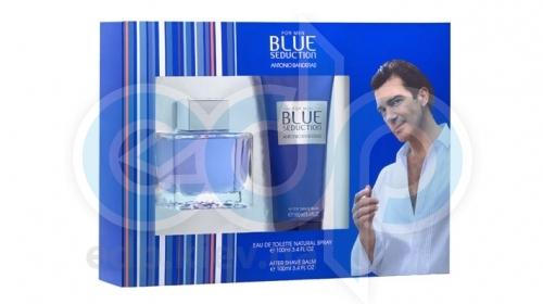 Antonio Banderas Blue Seduction for Men -  Набор (туалетная вода 50 + лосьон после бритья 100)