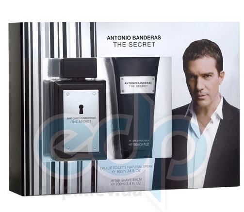 Antonio Banderas The Secret -  Набор (туалетная вода 100 + после бритья 100)