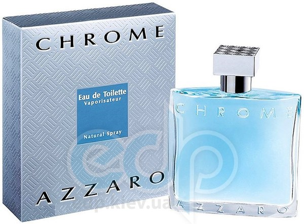 Azzaro Chrome - туалетная вода -  пробник (виалка) 1.2 ml