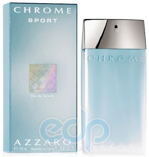 Azzaro Chrome Sport - туалетная вода -  пробник (виалка) 1.5 ml