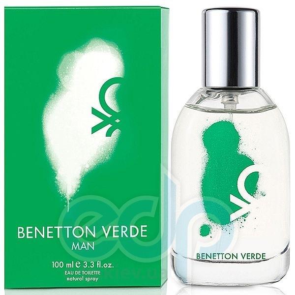 Benetton Verde Man - туалетная вода - 50 ml