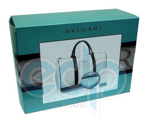 Bvlgari Aqva Pour Homme Marine -  Набор (туалетная вода 100 + гель для душа 75 + Sport bag)
