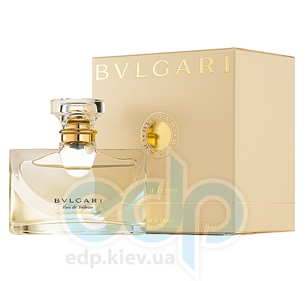 Bvlgari Pour Femme - туалетная вода - 50 ml