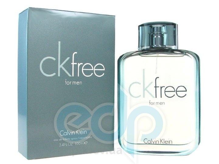 Calvin Klein CK Free Men - туалетная вода - 100 ml