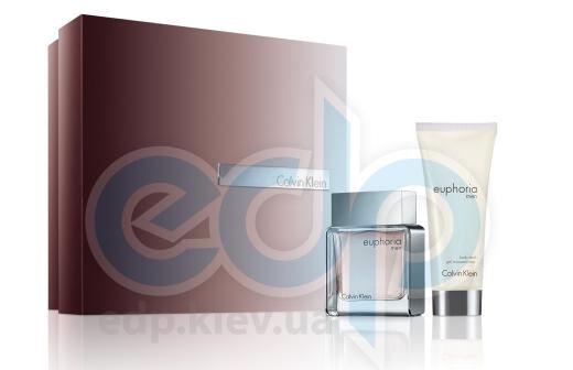 Calvin Klein Euphoria Men -  Набор (туалетная вода 100 + после бритья 100)
