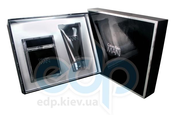 Calvin Klein MAN -  Набор (туалетная вода 100 + гель для душа 75)
