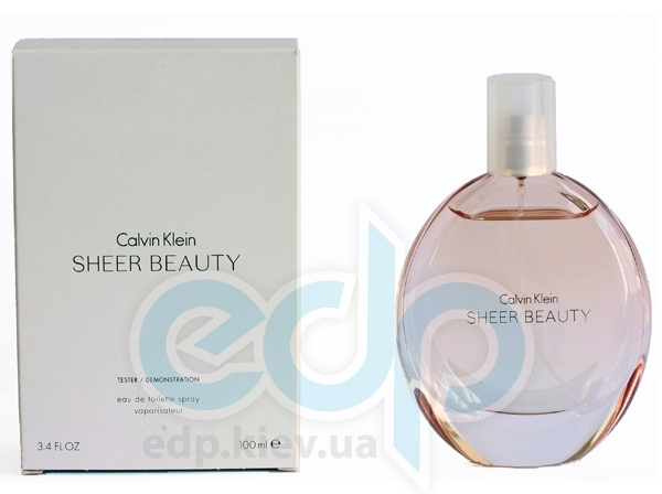 Calvin Klein Sheer Beauty - туалетная вода - 100 ml TESTER