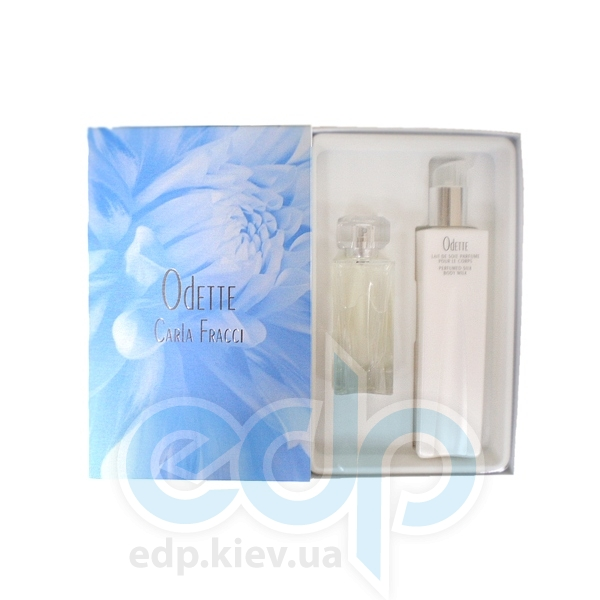 Carla Fracci Odette For Women -  Набор (парфюмированная вода 50 + лосьон-молочко для тела 215)